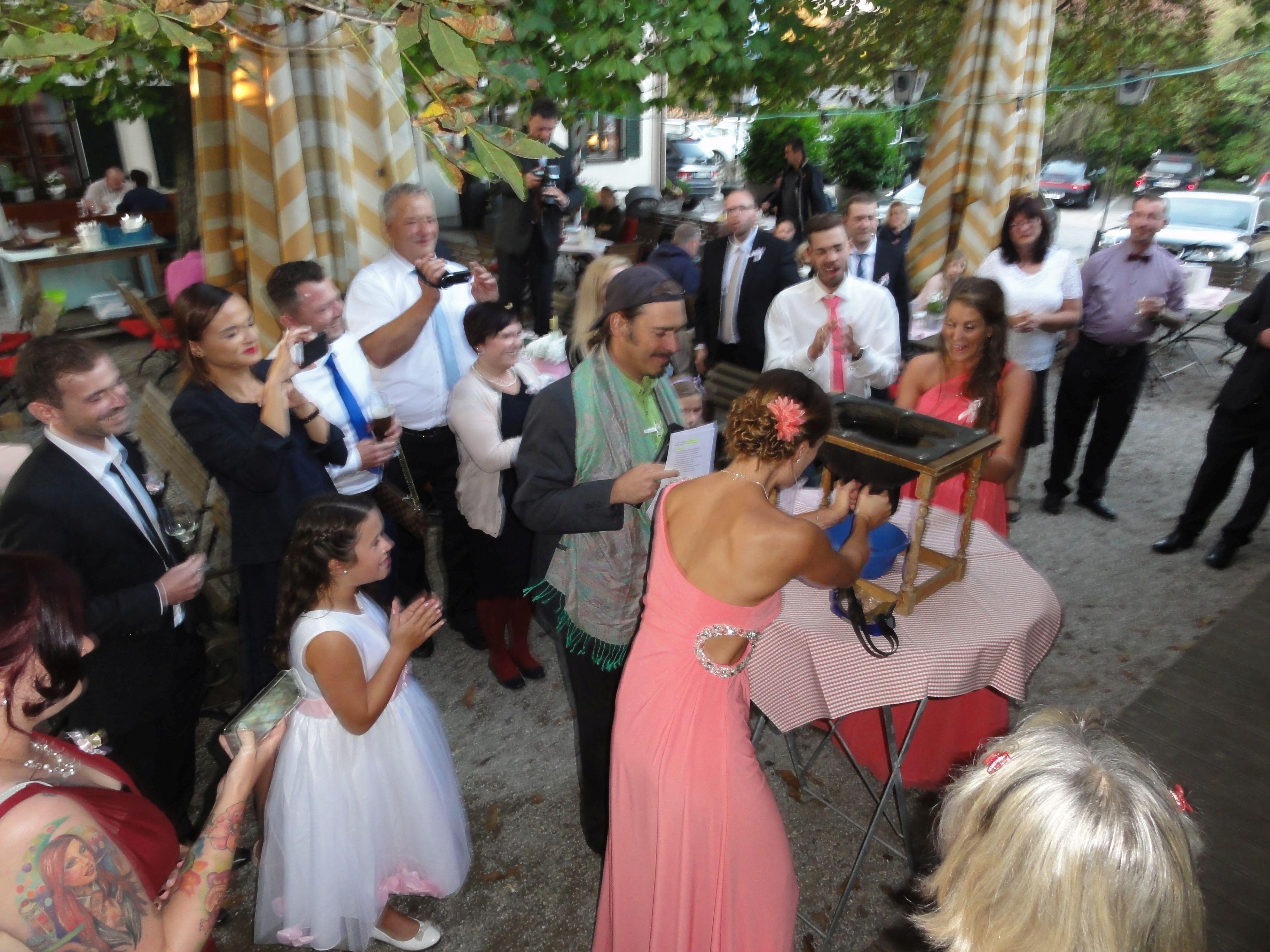 Brautverziehen mit DJ Brautstehlen super Stimmung (1)